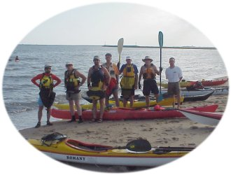 Some of the paddlers